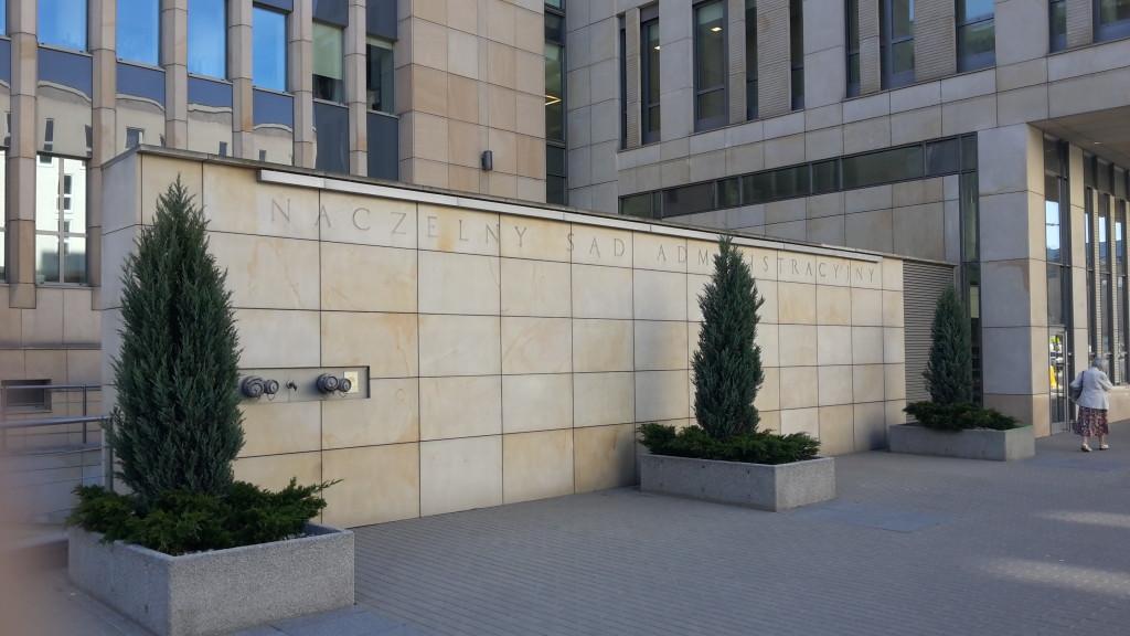 Radca prawny i nowelizacja PPSA a na obrazku Naczelny Sąd Administracyjny w Warszawie
